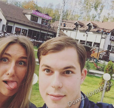 Илья с сестрой на проекте