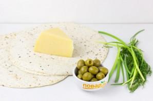 Сырная тортилья