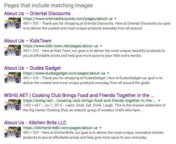 Imagem do resultado da busca
