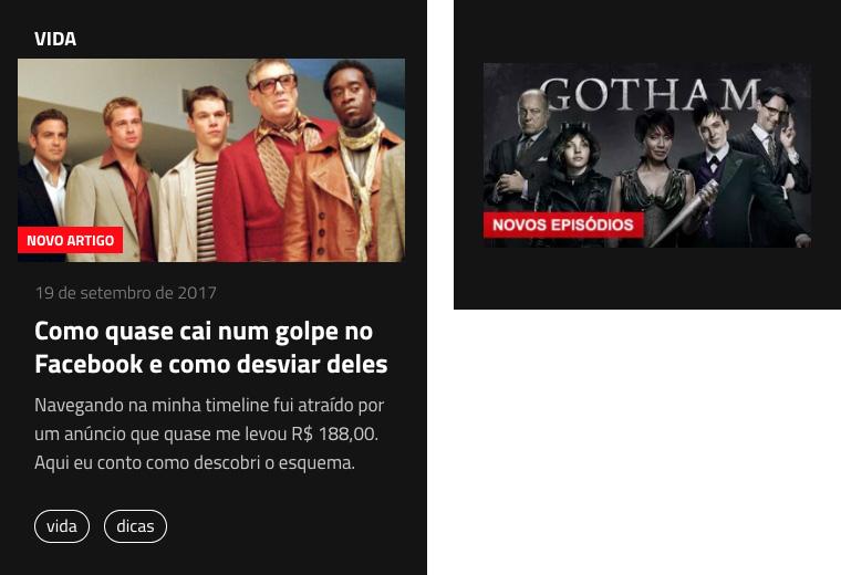 Imagem de comparação com a Netflix