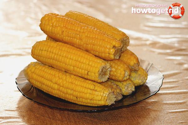 Для чего полезна вареная кукуруза