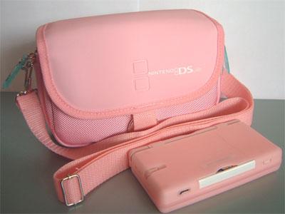 Nintendo ds bag pink