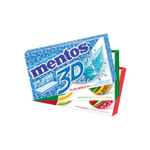 Mentos 3D