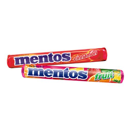 New Mentos Varieties