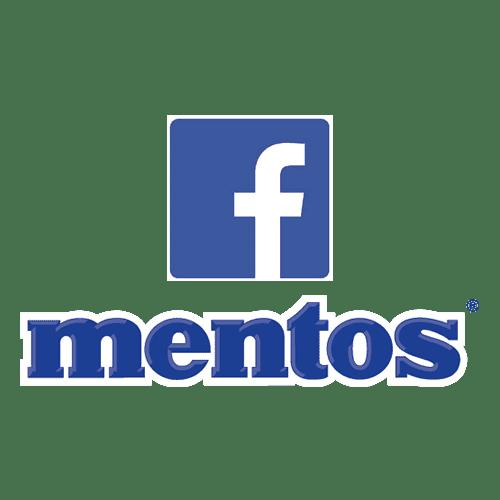 Création de la page Facebook Mentos France