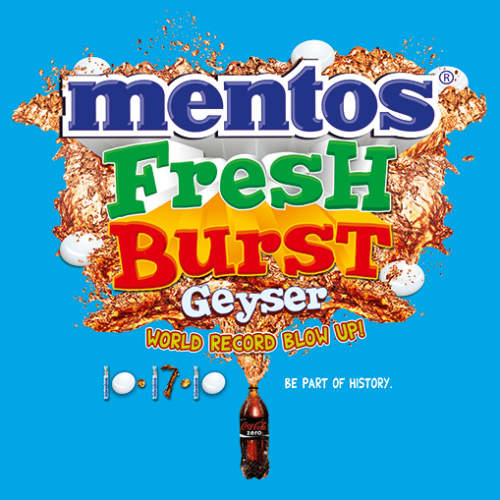 Mentos Philippines Blows Up The World Record