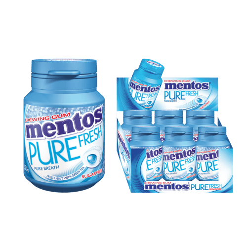 MENTOS PURE FRESH SUGARFREE GUM