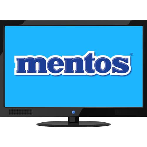 Mentos television