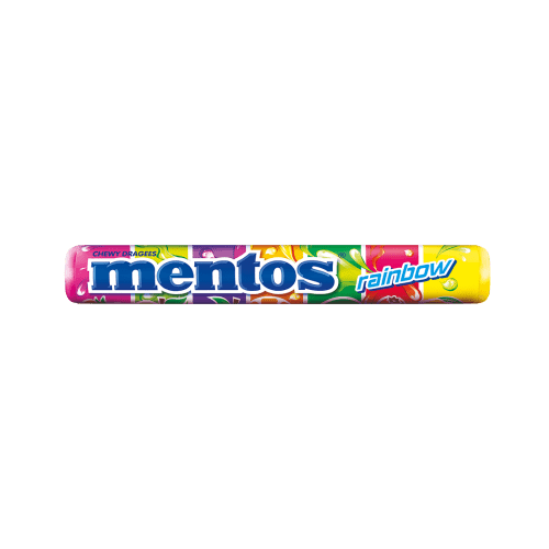 New Mentos Rainbow Roll