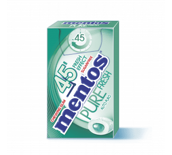 Mentos Pure Fresh 45min spearmint