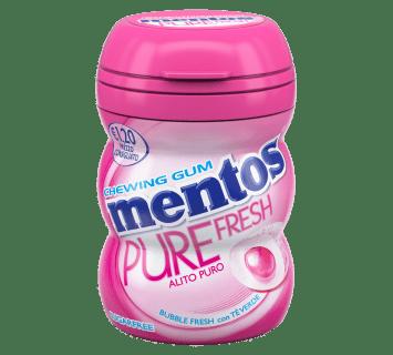 Mentos Pure Fresh Nano Bottle bubble fresh