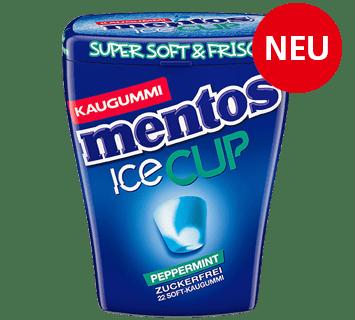 Mentos Kaugummi Ice Cup Peppermint