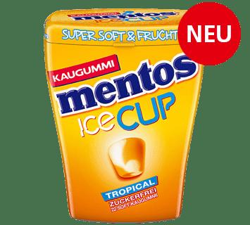 Mentos Kaugummi Ice Cup Tropical
