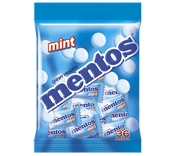 Mentos Mint 36 pcs Bag