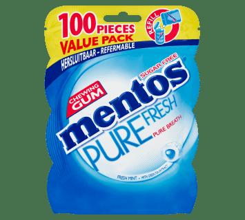 Mentos Gum Pure Fresh - Fresh Mint zak