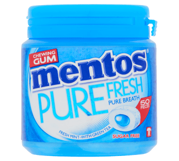Mentos Gum Pure Fresh - Fresh Mint pot