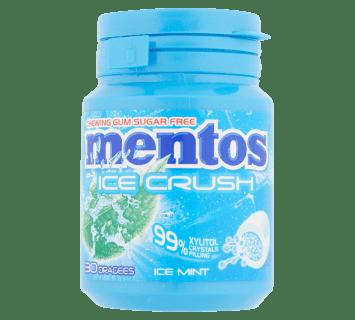 Mentos Gum Ice Crush - Ice Mint pot