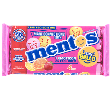 Mentos Fruit 4 Pack