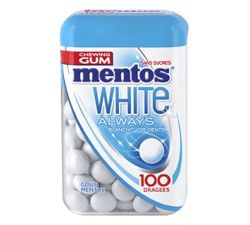 WHITE ALWAYS  GOÛT MENTHE