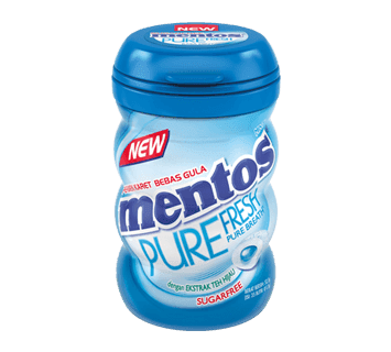Mentos Pure Fresh Mint Bottle