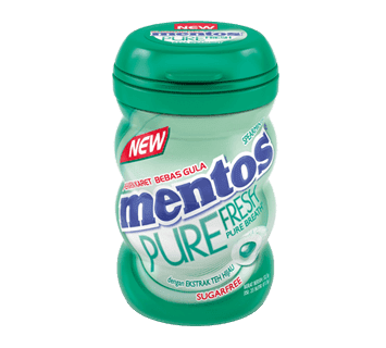 Mentos Pure Fresh Spearmint Bottle
