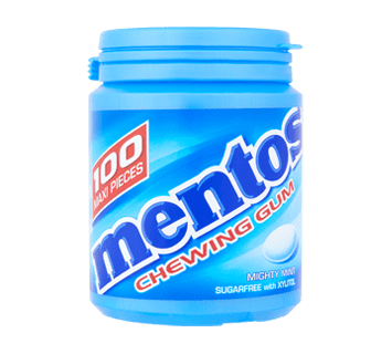 Mentos Gum Mighty Mint