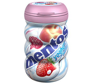Mentos Yoghurt Bottle