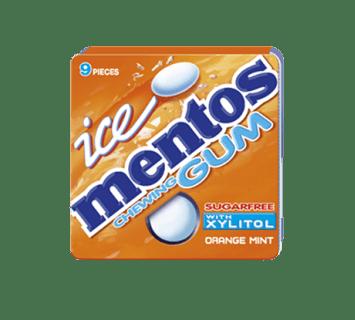 Mentos Ice Gum Orange Blister