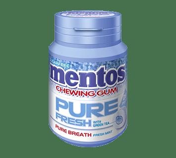 Mentos Pure Fresh Gum Bottle - FreshMint