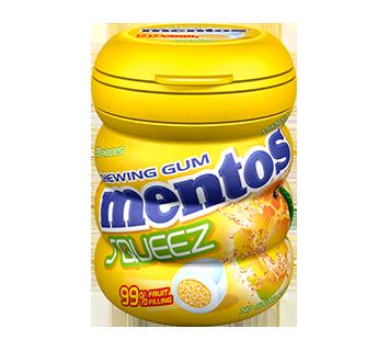 Mentos Squeez Gum Bottle - Mango