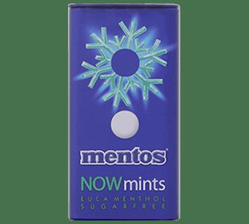 Mentos NowMints Euca-Menthol