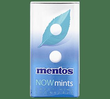 Mentos Now Mints Sweet Mint