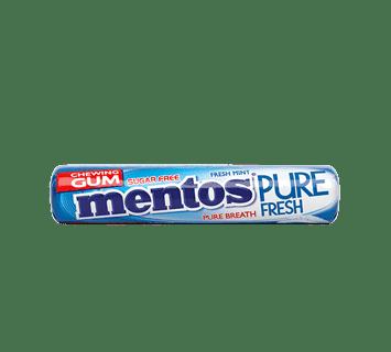 Mentos Pure Fresh Gum roll Fresh mint - 8ks
