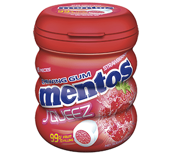 Mentos Squeeze Strawberry