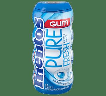 Mentos Gum Menta 15pzas