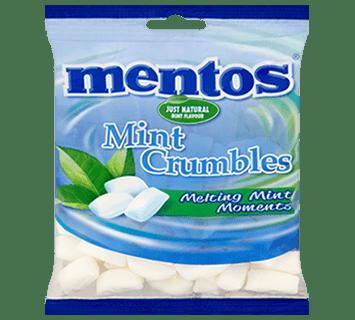 Mentos Mint Crumbles 200g Bag