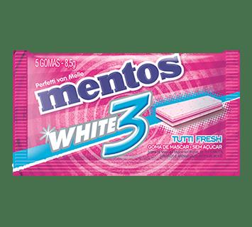 MENTOS WHITE - TUTTI FRESH