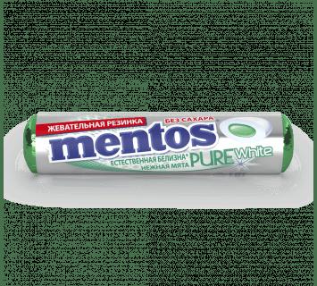 Pure White нежная мята-Roll