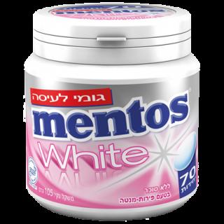 מסטיק מנטוס וויט ביג בטעם פירות מנטה