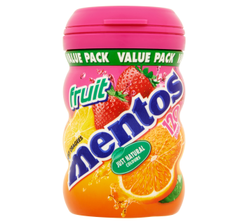 Mentos Chewy Bottle Fruit