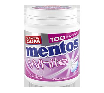 MENTOS KAUGUMMI WHITE TUTTI FRUTTI 100ST