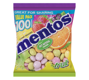 Mentos Fruit Bag