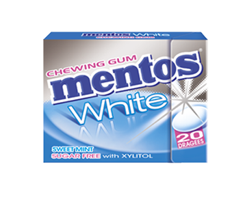 MENTOS KAUGUMMI WHITE SWEET MINT