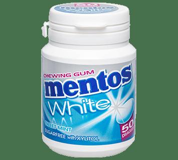 MENTOS KAUGUMMI WHITE SWEET MINT