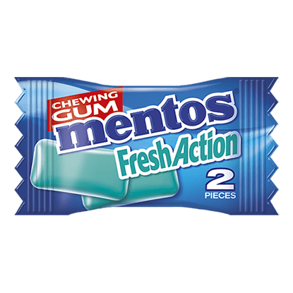 Mentos Fresh Action - Eucamint