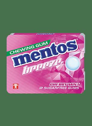 Mentos Gum Breeze - Cherry