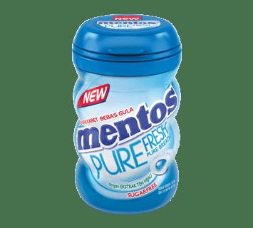 Mentos Pure Fresh Mint Bottle
