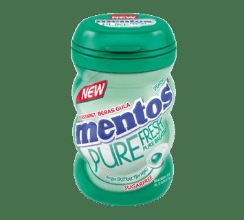 Mentos Pure Fresh Spearmint Bottle