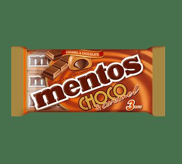 Mentos Choco & Caramel 3-Pack