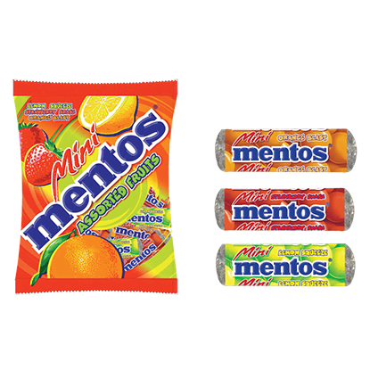 MINI MENTOS ASSORTED FRUIT